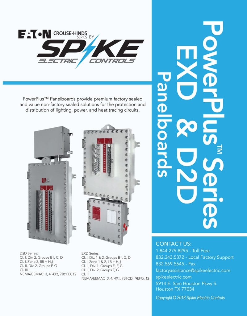 explosion-proof-panelboards-exd-d2d-spike-electric